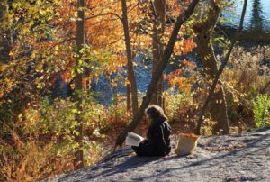 Mindful Writing by the Lake